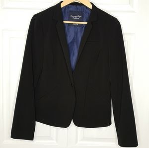 American Eagle Lined Fitted Blazer Jacket Coat